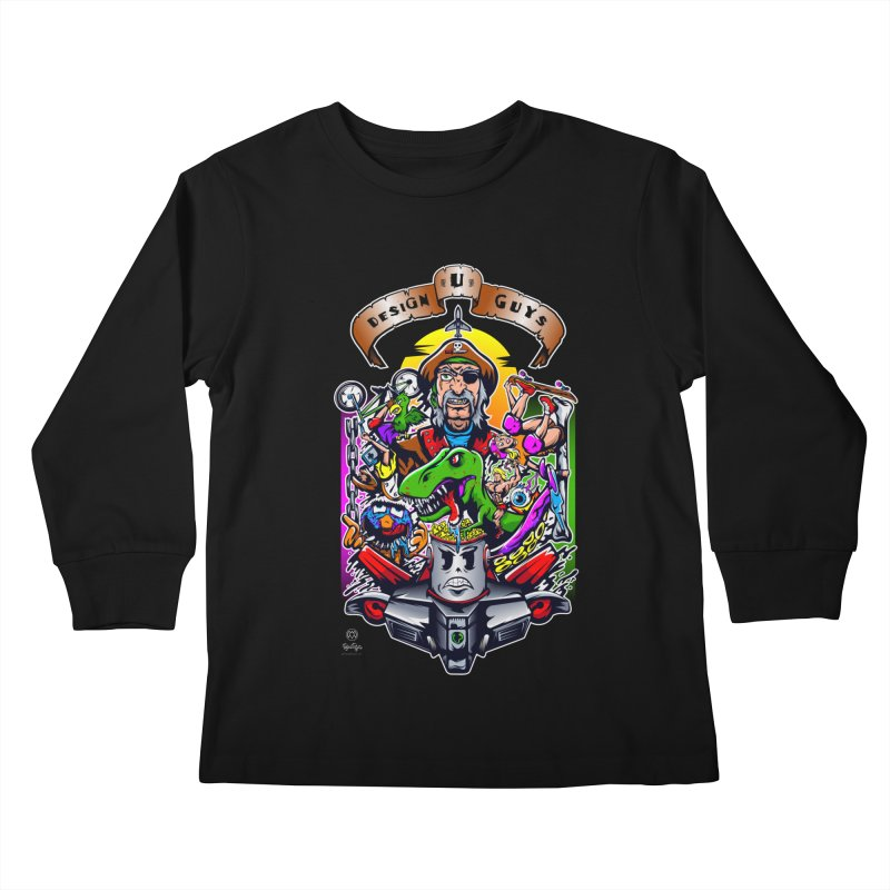 Design You Guys Kids Longsleeve T-Shirt by Payback Penguin