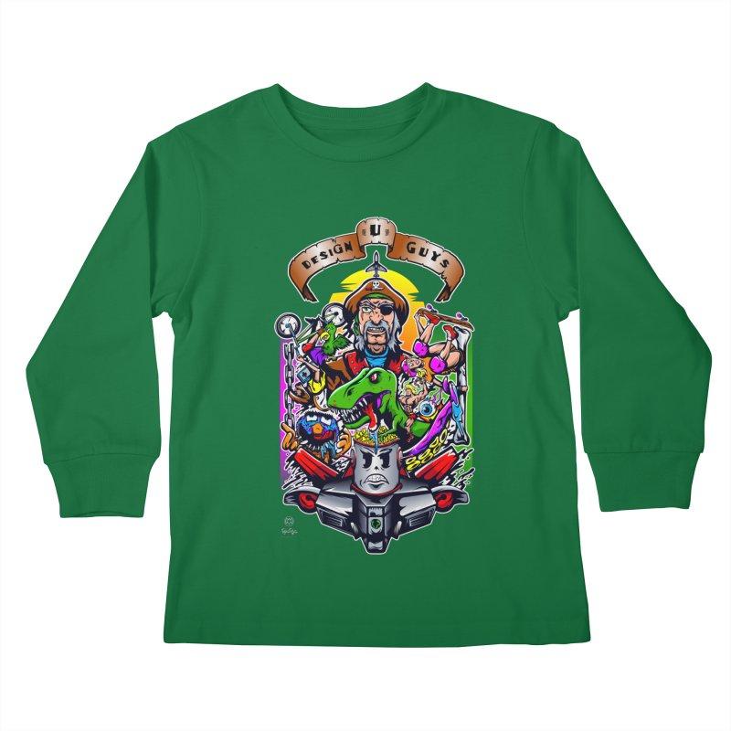 Design You Guys Kids Longsleeve T-Shirt by Payback Penguin