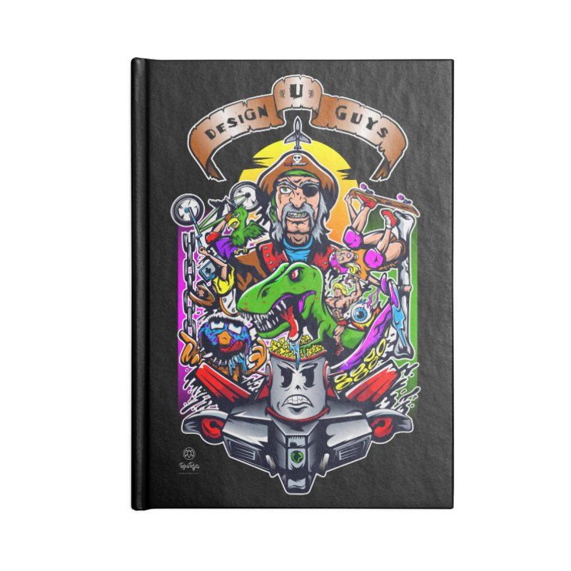 Design You Guys Accessories Notebook by Payback Penguin