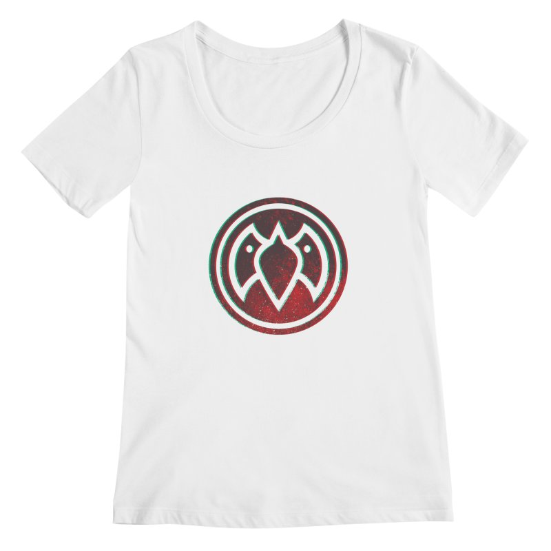 3D Meatball Women's Scoopneck by Payback Penguin