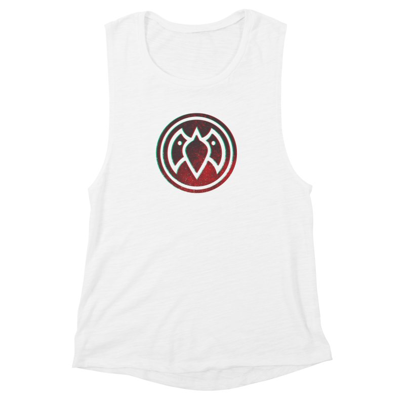 3D Meatball Women's Muscle Tank by Payback Penguin