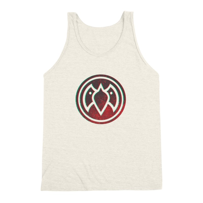3D Meatball Men's Triblend Tank by Payback Penguin