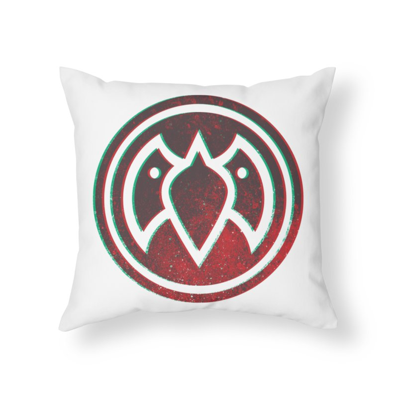 3D Meatball Home Throw Pillow by Payback Penguin