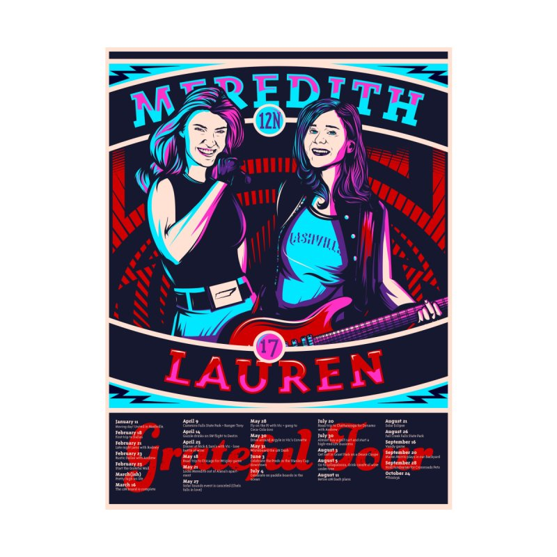 Meredith and Lauren Pink by Payback Penguin
