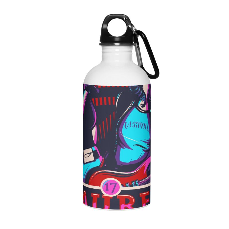 Meredith and Lauren Pink Accessories Water Bottle by Payback Penguin