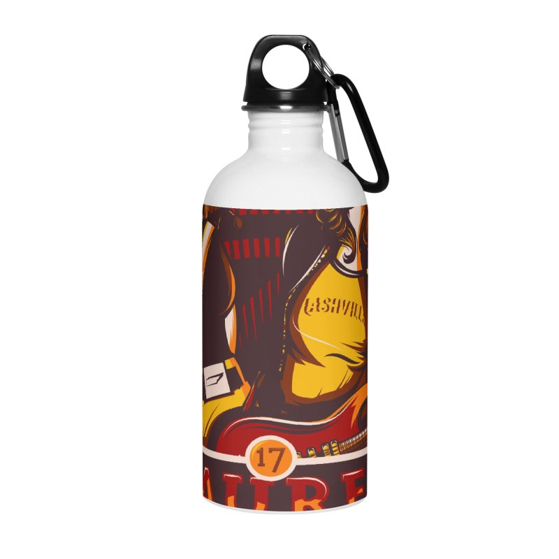 Meredith and Lauren Yellow Accessories Water Bottle by Payback Penguin