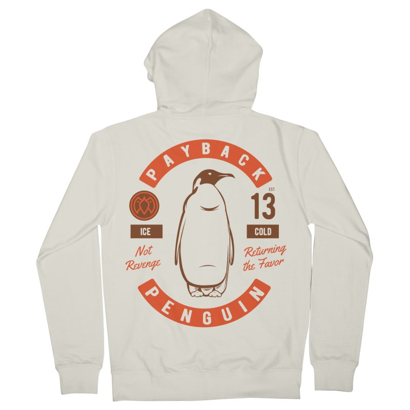 Payback Penguin Ice Cold - 2018 Men's Zip-Up Hoody by Payback Penguin