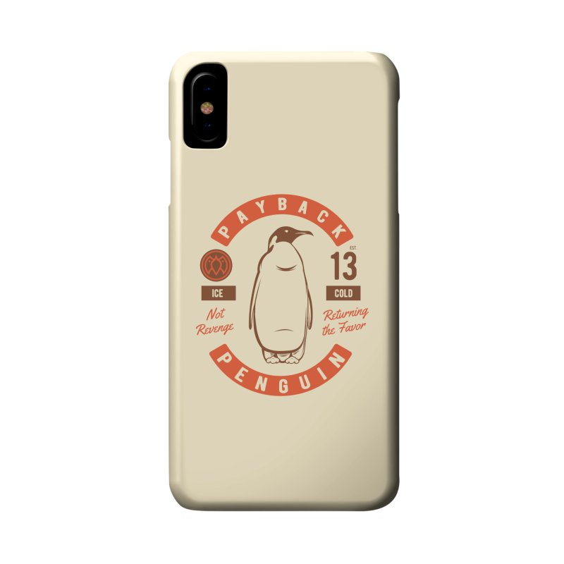 Payback Penguin Ice Cold - 2018 Accessories Phone Case by Payback Penguin