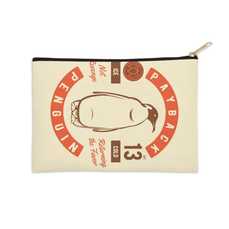 Payback Penguin Ice Cold - 2018 Accessories Zip Pouch by Payback Penguin