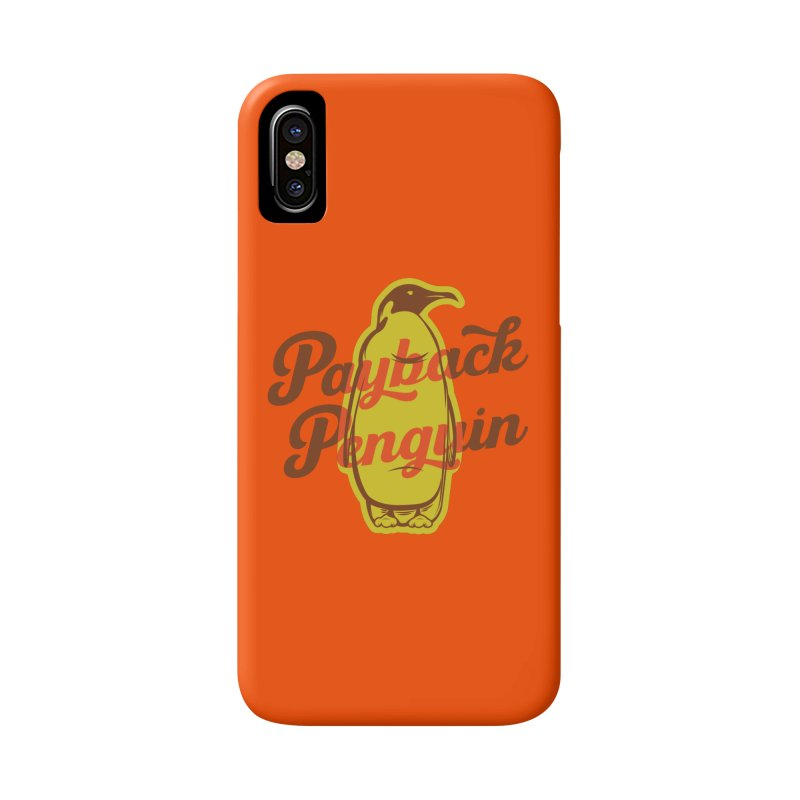 Payback Penguin - 1982 Accessories Phone Case by Payback Penguin