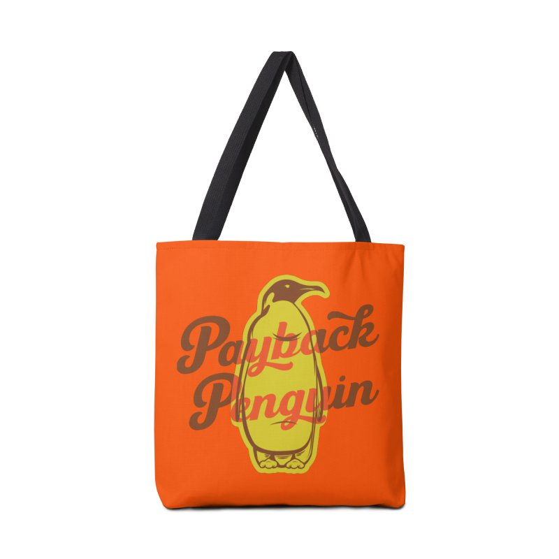 Payback Penguin - 1982 Accessories Tote Bag Bag by Payback Penguin