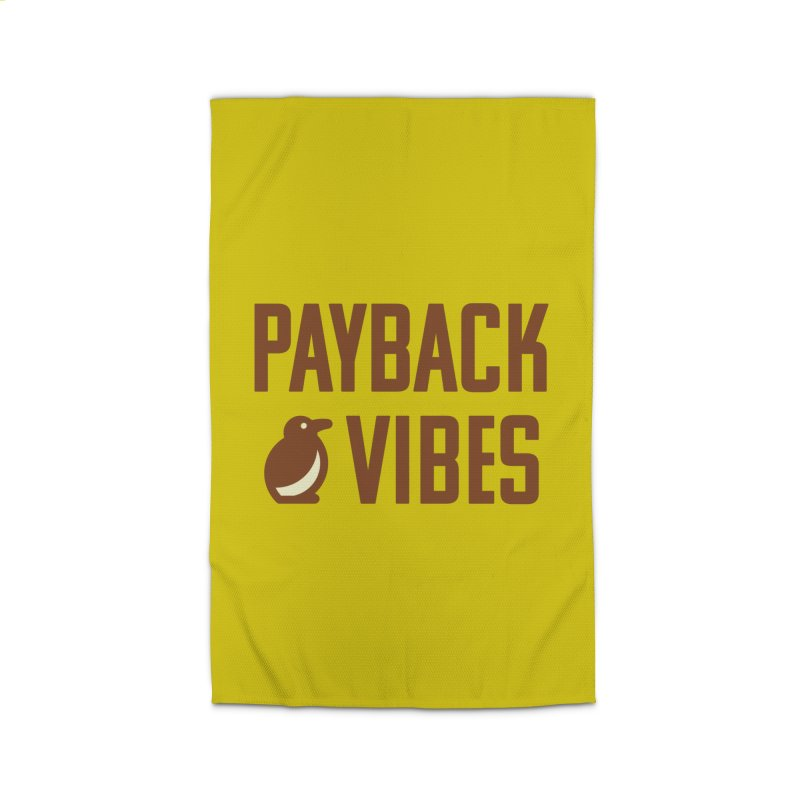 Payback Penguin - Payback Vibes Home Rug by Payback Penguin