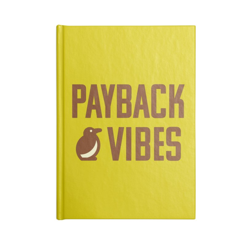 Payback Penguin - Payback Vibes Accessories Notebook by Payback Penguin