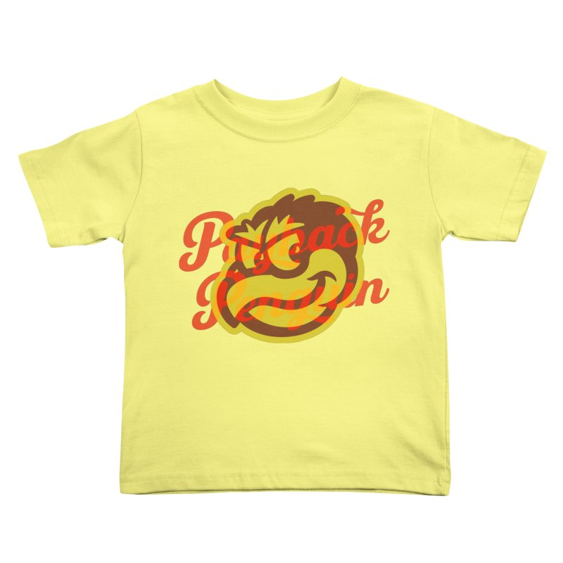 Payback Penguin - 1983 Kids Toddler T-Shirt by Payback Penguin