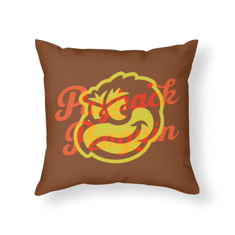 Payback Penguin - 1983 Home Throw Pillow by Payback Penguin