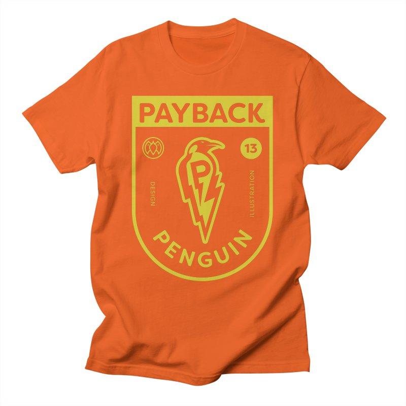 Payback Penguin Lightening Shield - Dark Women's T-Shirt by Payback Penguin
