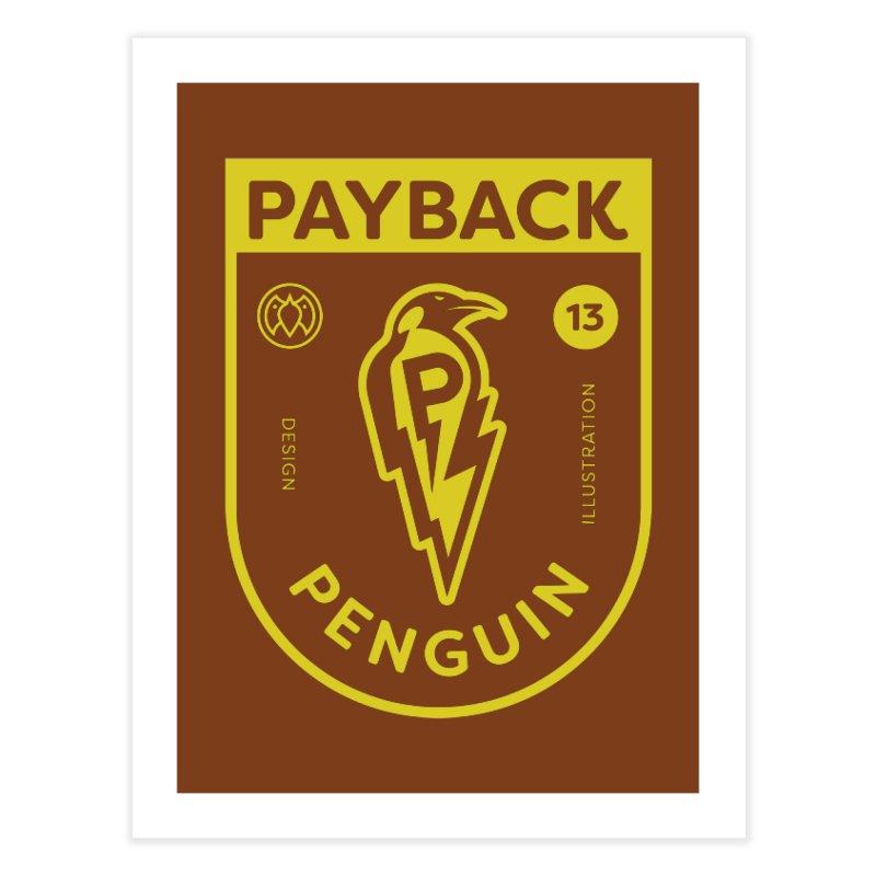 Payback Penguin Lightening Shield - Dark Home  by Payback Penguin