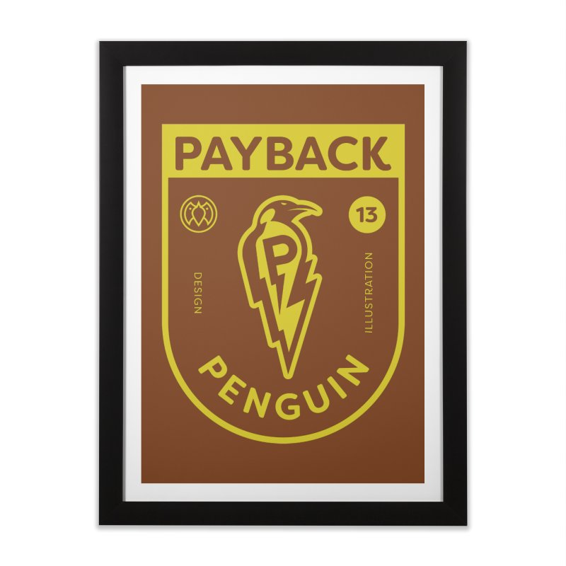 Payback Penguin Lightening Shield - Dark Home  by Payback Penguin
