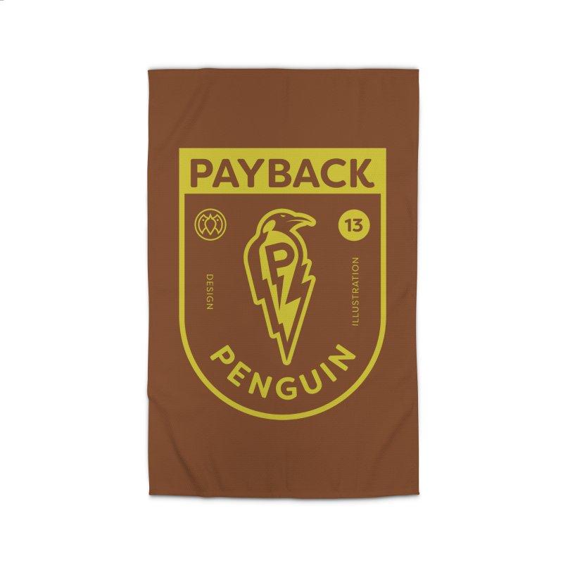 Payback Penguin Lightening Shield - Dark Home Rug by Payback Penguin