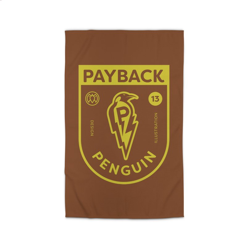 Payback Penguin Lightening Shield - Dark Home Rug by Payback Penguin