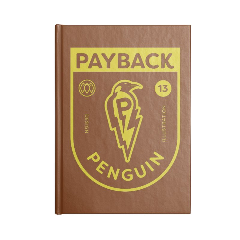 Payback Penguin Lightening Shield - Dark Accessories Notebook by Payback Penguin