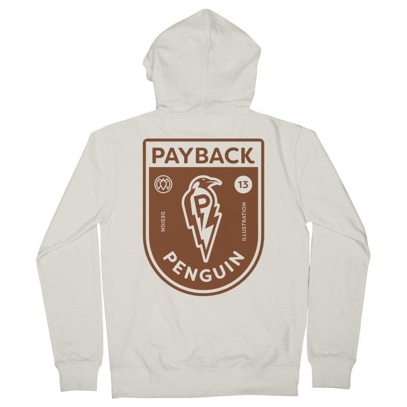 Payback Penguin - Lightening Shield Light Women's Zip-Up Hoody by Payback Penguin