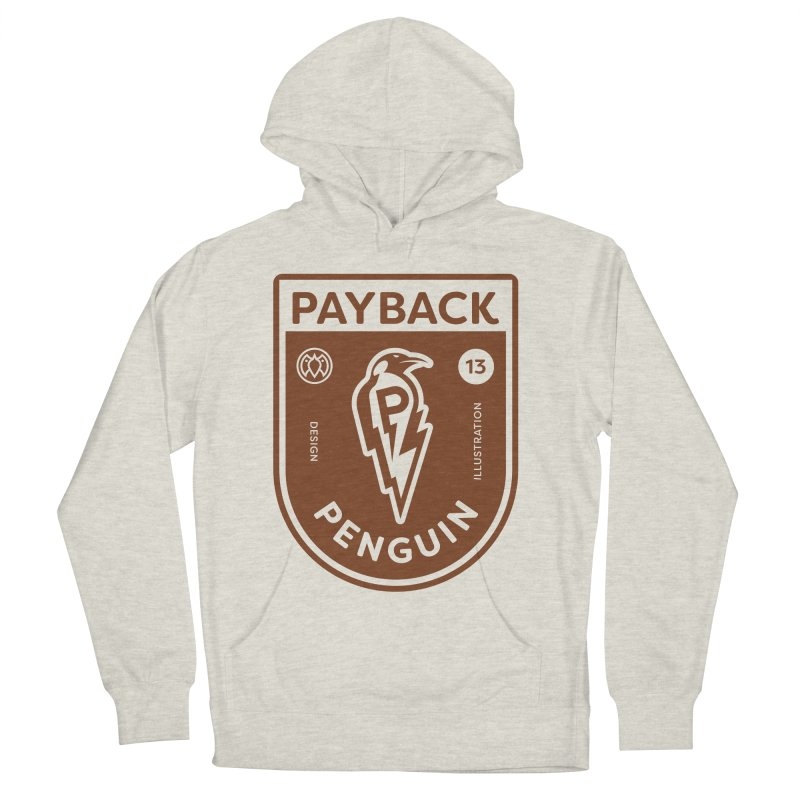 Payback Penguin - Lightening Shield Light Women's French Terry Pullover Hoody by Payback Penguin