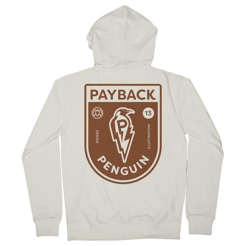 Payback Penguin - Lightening Shield Light Men's Zip-Up Hoody by Payback Penguin