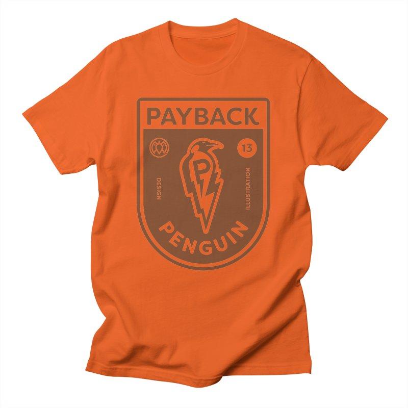Payback Penguin - Lightening Shield Light Men's T-Shirt by Payback Penguin