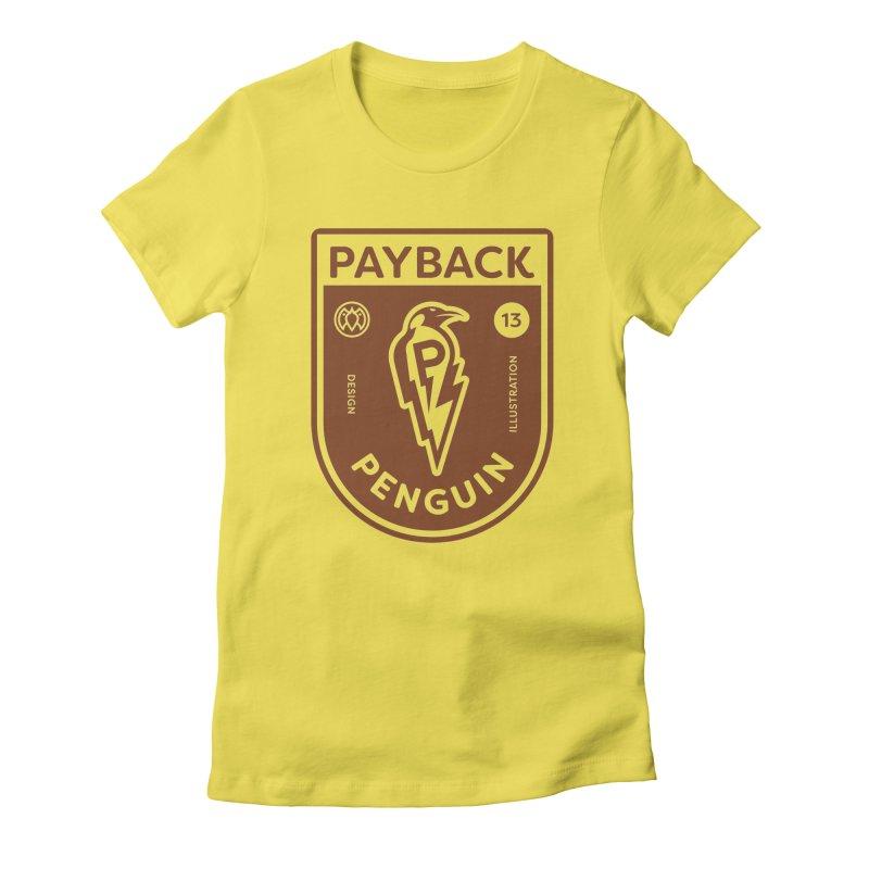 Payback Penguin - Lightening Shield Light Women's T-Shirt by Payback Penguin