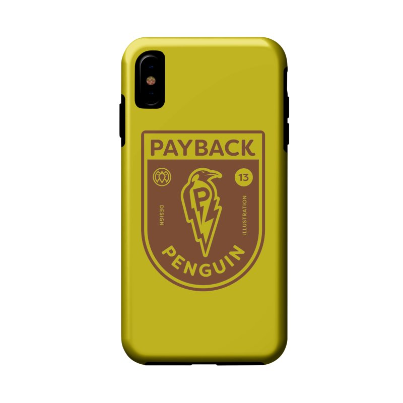 Payback Penguin - Lightening Shield Light Accessories Phone Case by Payback Penguin