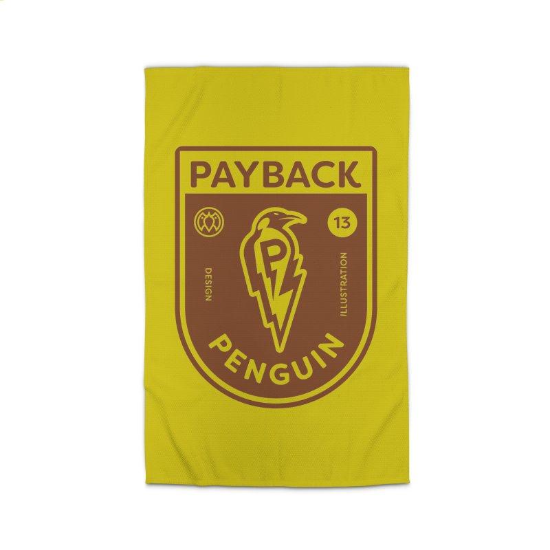 Payback Penguin - Lightening Shield Light Home Rug by Payback Penguin