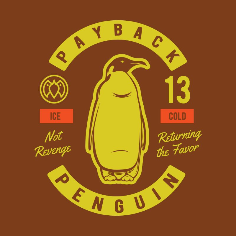 Payback Penguin - Ice Cold - Dark Accessories Notebook by Payback Penguin