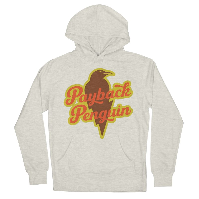 Payback Penguin - Lightening Men's Pullover Hoody by Payback Penguin