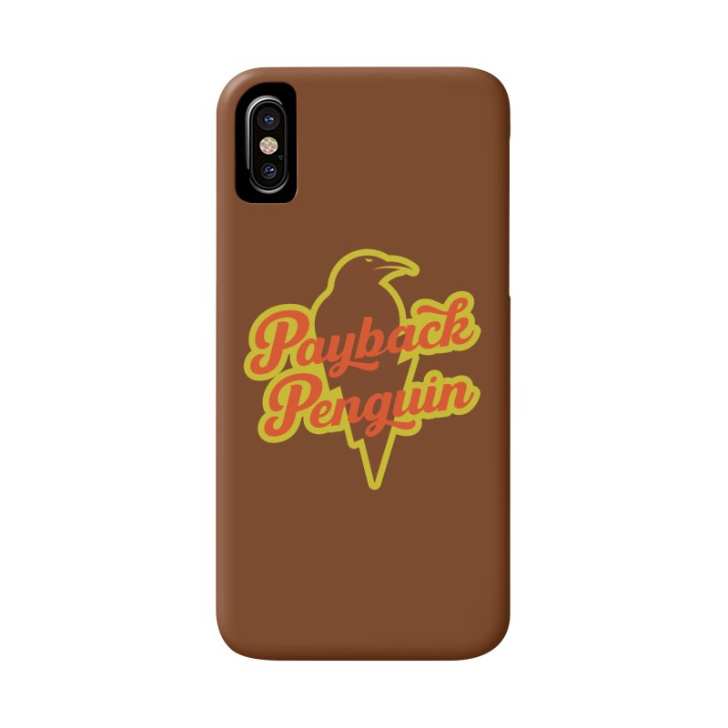 Payback Penguin - Lightening Accessories Phone Case by Payback Penguin