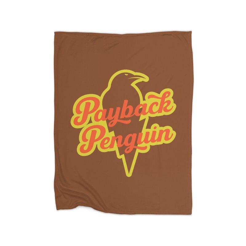 Payback Penguin - Lightening Home Blanket by Payback Penguin