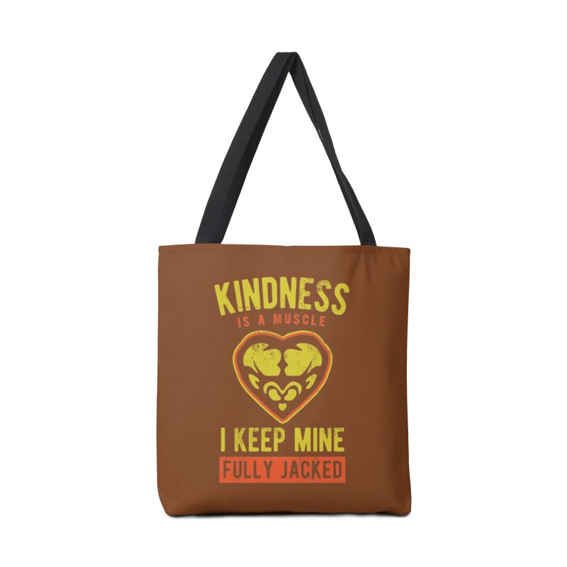Payback Penguin - Kindness (Brown) Accessories Tote Bag Bag by Payback Penguin