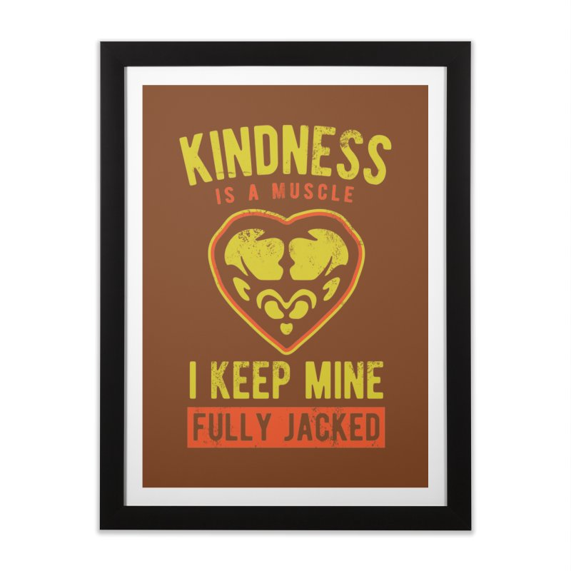 Payback Penguin - Kindness (Brown) Home  by Payback Penguin
