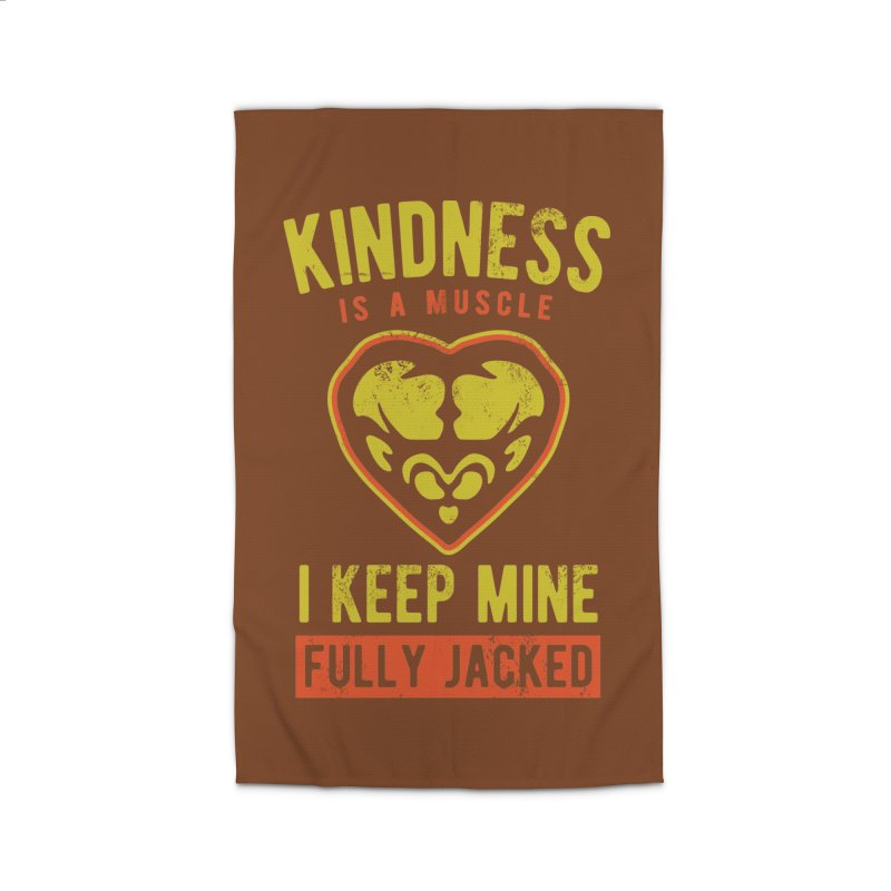 Payback Penguin - Kindness (Brown) Home Rug by Payback Penguin