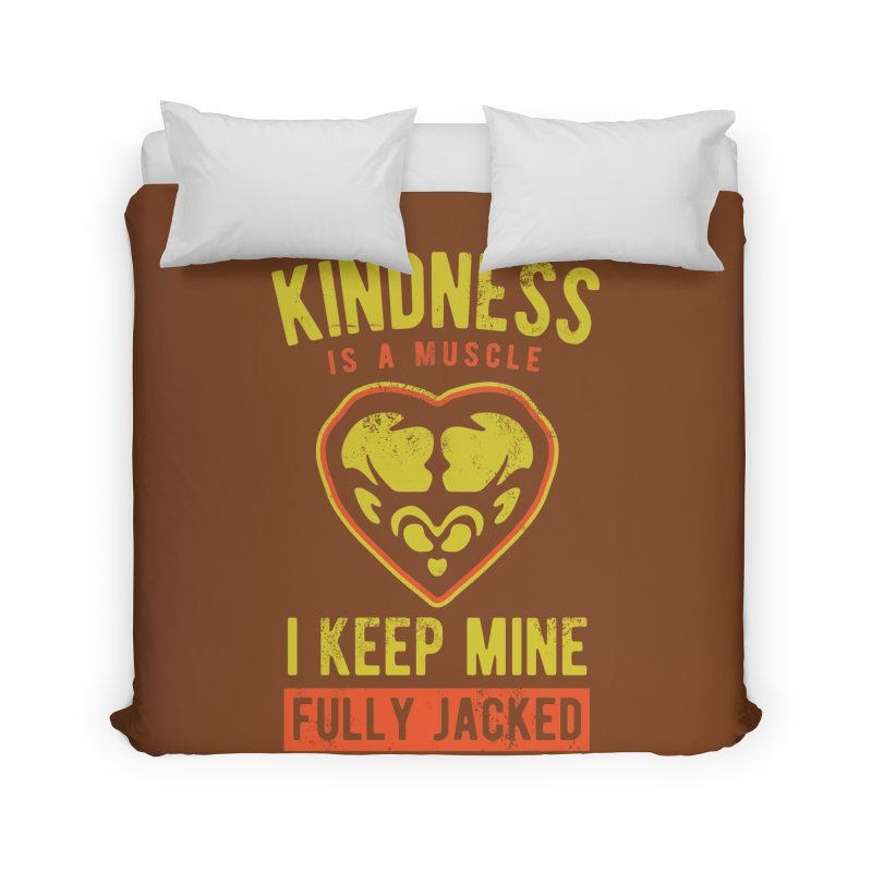 Payback Penguin - Kindness (Brown) Home Duvet by Payback Penguin