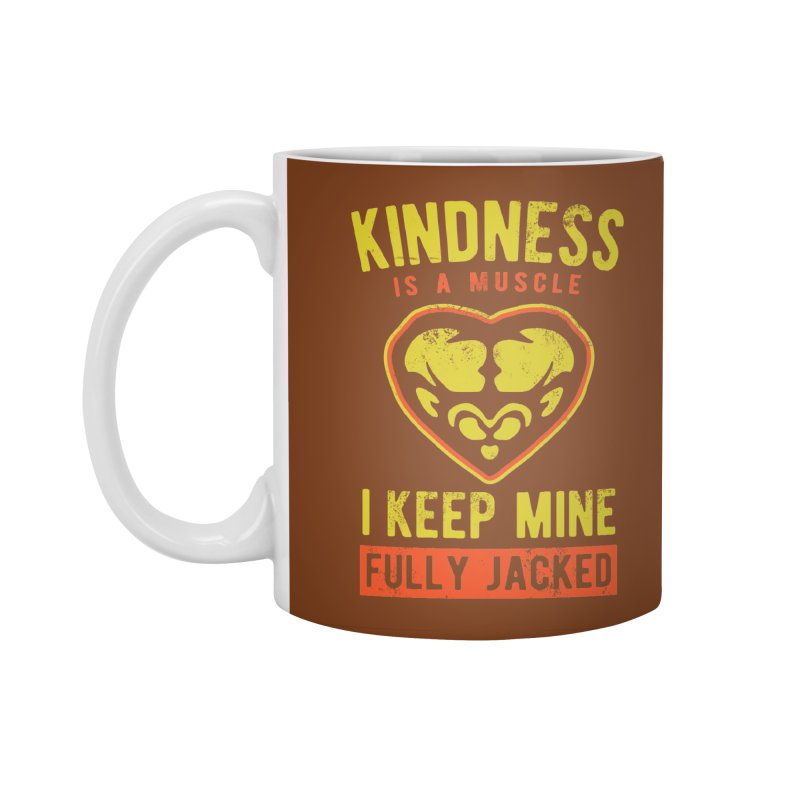 Payback Penguin - Kindness (Brown) Accessories Standard Mug by Payback Penguin