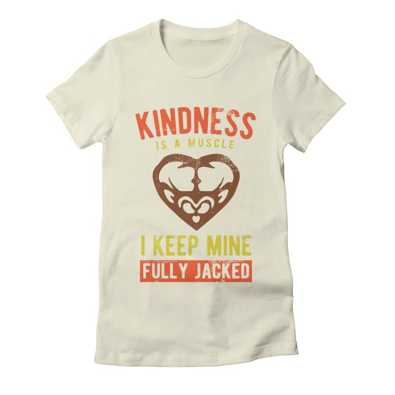 Payback Penguin - Kindness (Cream) Women's T-Shirt by Payback Penguin