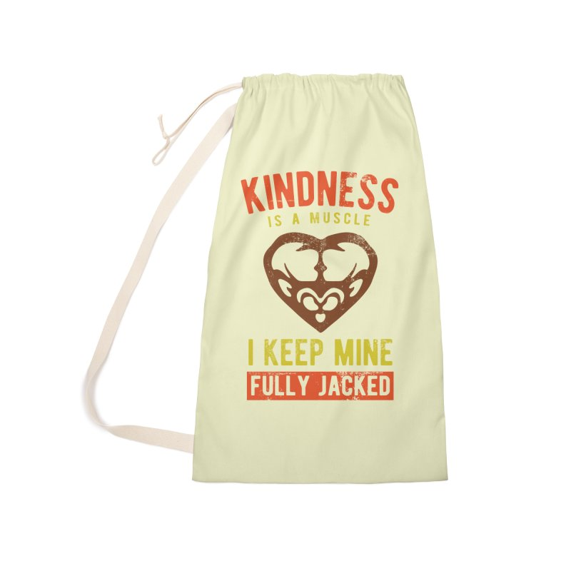 Payback Penguin - Kindness (Cream) Accessories Laundry Bag Bag by Payback Penguin