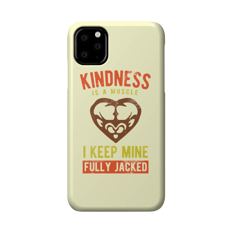 Payback Penguin - Kindness (Cream) Accessories Phone Case by Payback Penguin