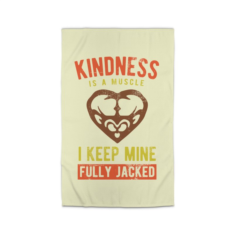 Payback Penguin - Kindness (Cream) Home Rug by Payback Penguin