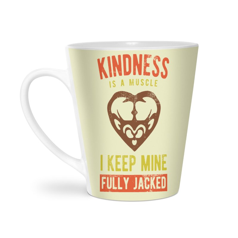 Payback Penguin - Kindness (Cream) Accessories Latte Mug by Payback Penguin