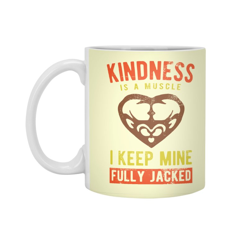 Payback Penguin - Kindness (Cream) Accessories Standard Mug by Payback Penguin