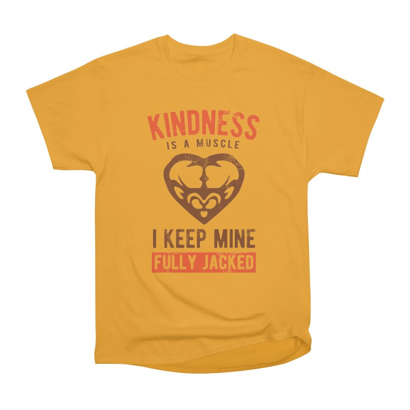Payback Penguin - Kindness (yellow) Women's Heavyweight Unisex T-Shirt by Payback Penguin