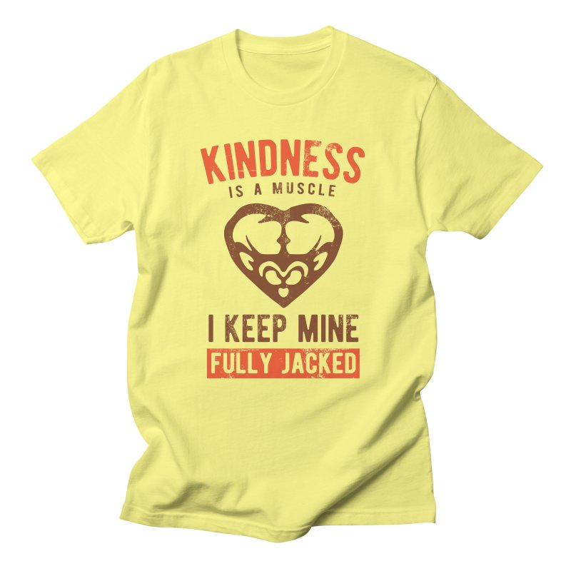 Payback Penguin - Kindness (yellow) Men's T-Shirt by Payback Penguin