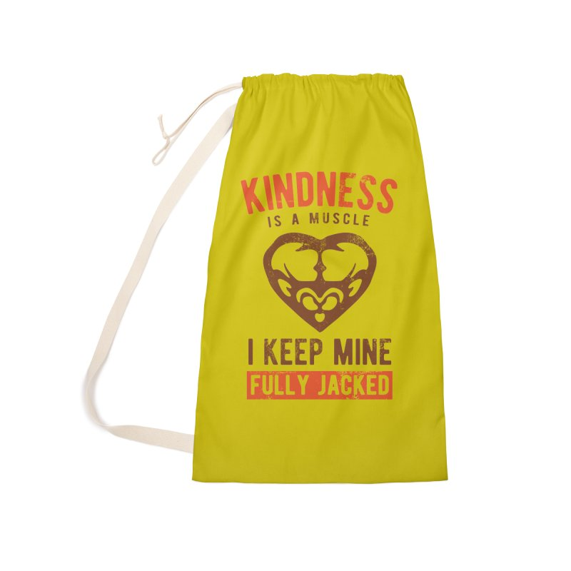 Payback Penguin - Kindness (yellow) Accessories Laundry Bag Bag by Payback Penguin